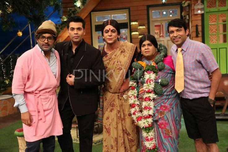See Pics: Karan Johar has a blast on The Kapil Sharma Show!
