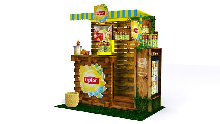 Stand Lipton on Behance