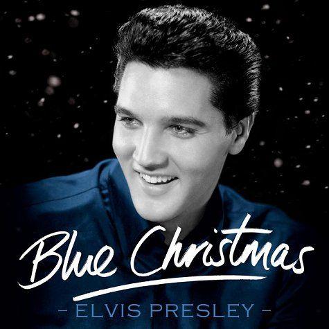 Elvis singing Blue Christmas