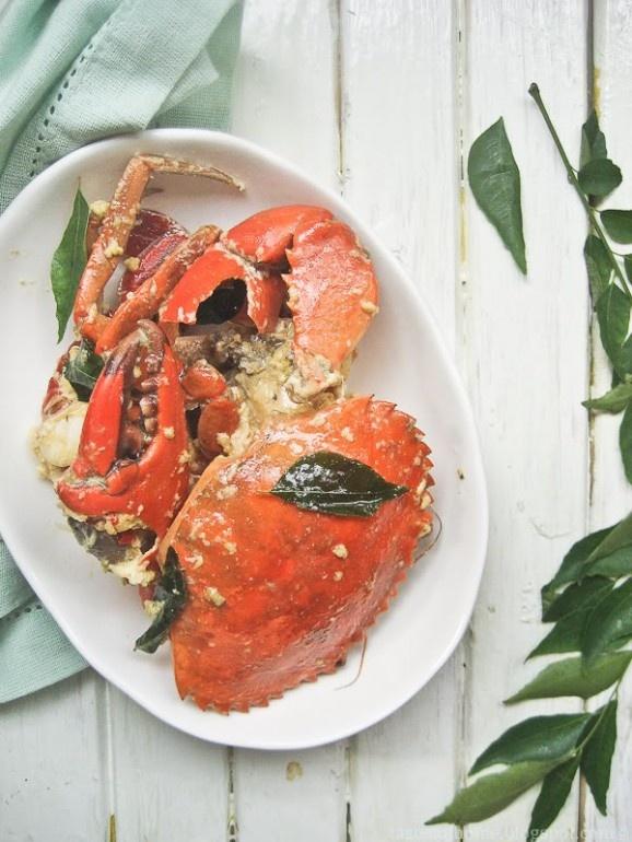 Butter Crabs #recipe #juliesoissons