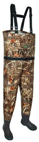 Allen Company Blue Bill Camo Breathable Wader, 600 G Thinsulate Boot (Size 13)