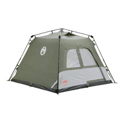 Coleman Zelt Instant Tent Tourer 4, grün, 2000009566: Amazon.de: Sport & Freizeit