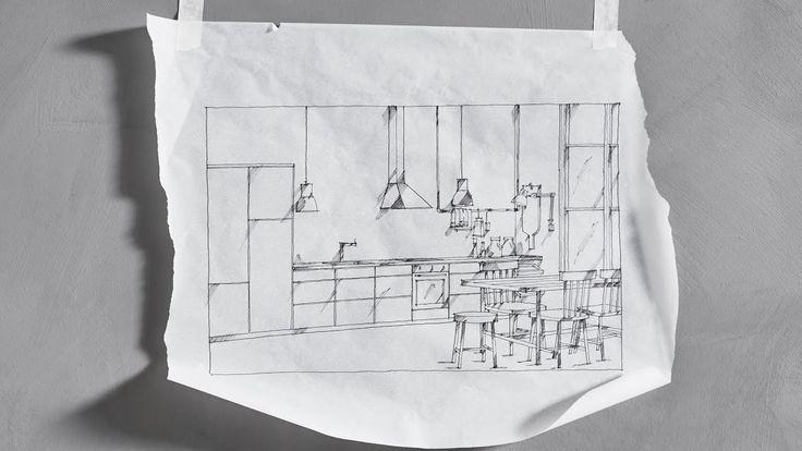 IKEA IDEAS: An IKEA kitchen installation