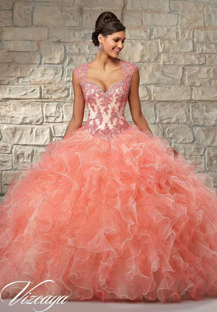 Wejanedress coral quinceanera dress 2017 customized cheap 26ecee7bc99d