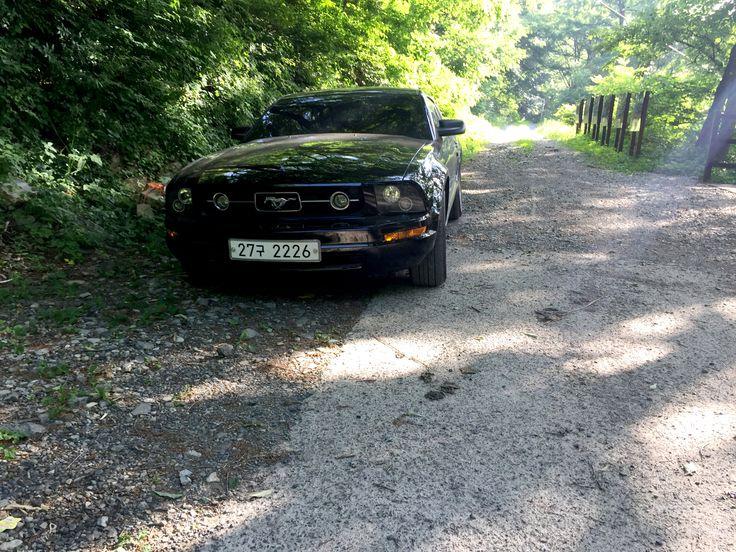 FORD 2007 MUSTANG V6 4.0 BLACK GRIBEN (DETAILKOREA) #FORD 2007 #MUSTANG #V6 #4.0 BLACK #GRIBEN #DETAILKOREA