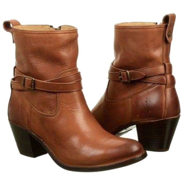 These Frye Jackie Rivet Short Whiskey Boots are a top 10 member favorite on  Tradesy.