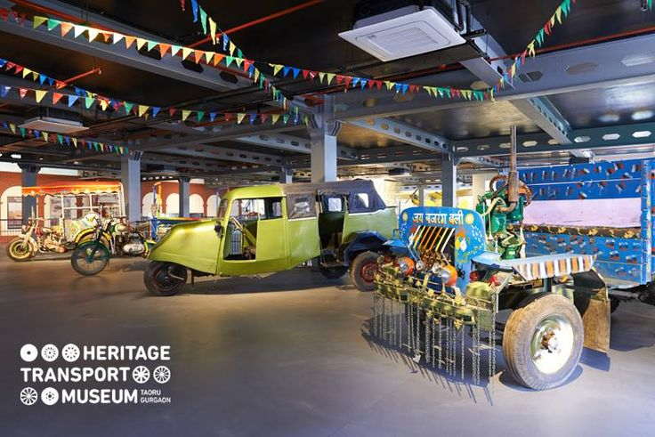 Here's a look at some indigenous vehicles on display at the museum!