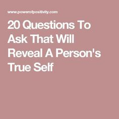Questions to ask the person your dating