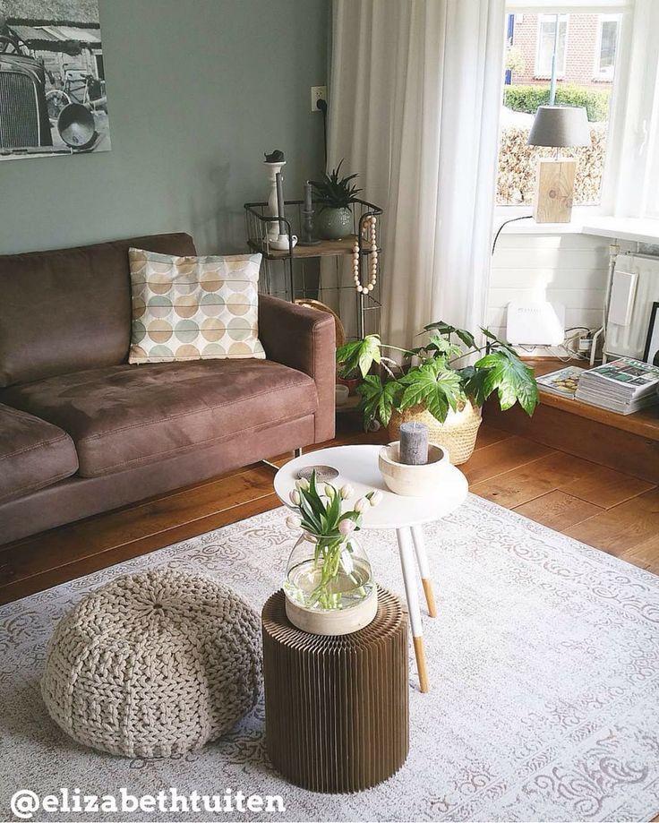 17 beste idee n over woonkamer bruin op pinterest bruine for Bruin grijs interieur