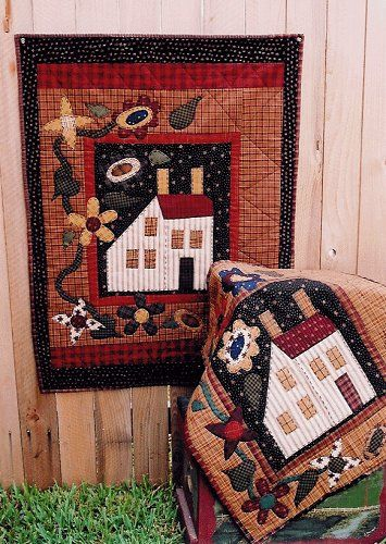 272 Best House Quilts Images On Pinterest House Quilts