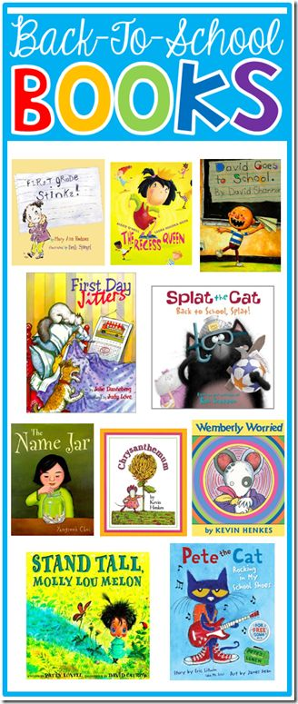 Back to School Read-Alouds