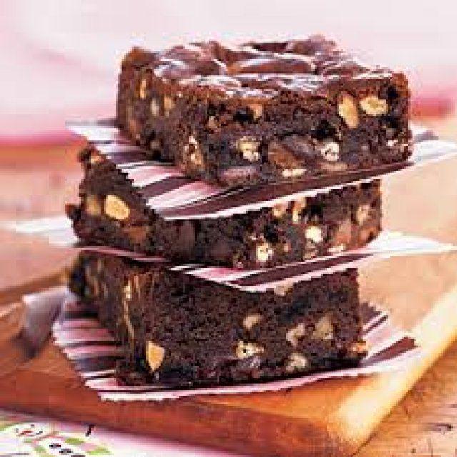 Brownies de Chocolate con Almendra