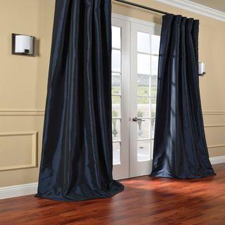 Navy blue curtains blue curtains and silk taffeta on Navy blue curtains