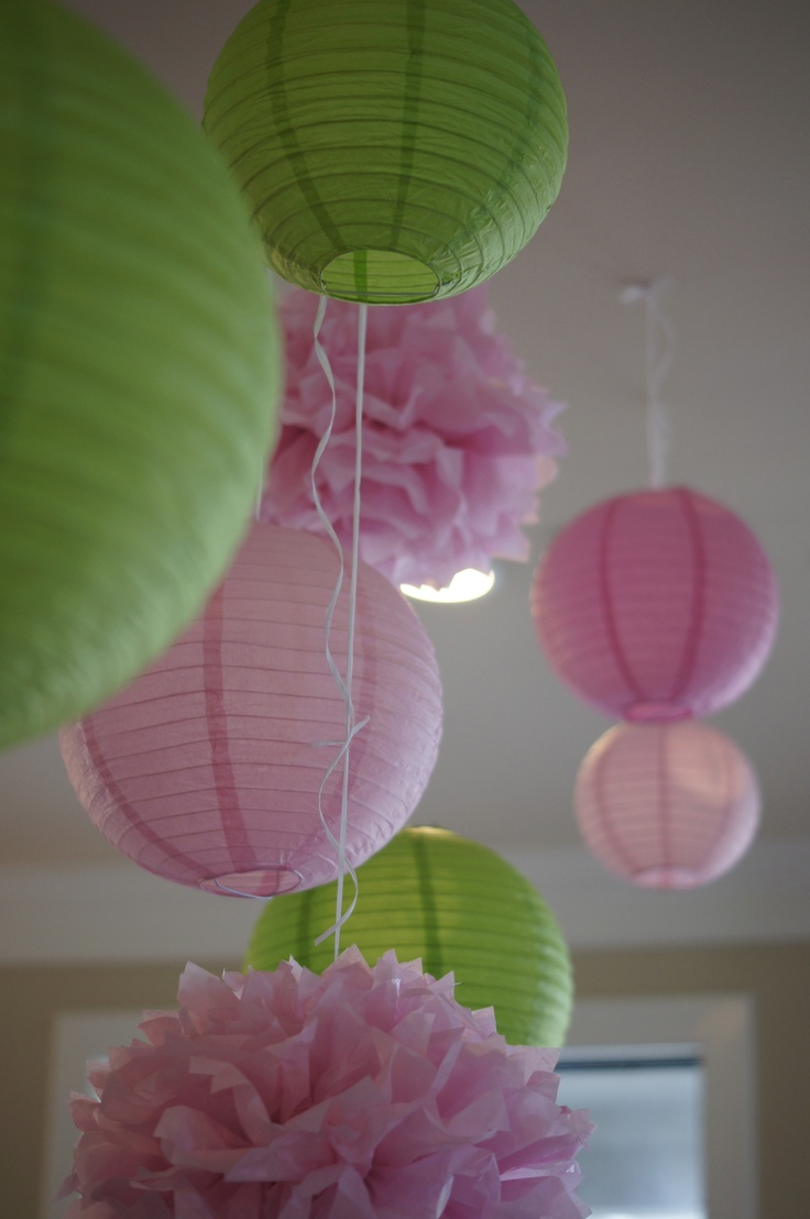 more baby shower decorations