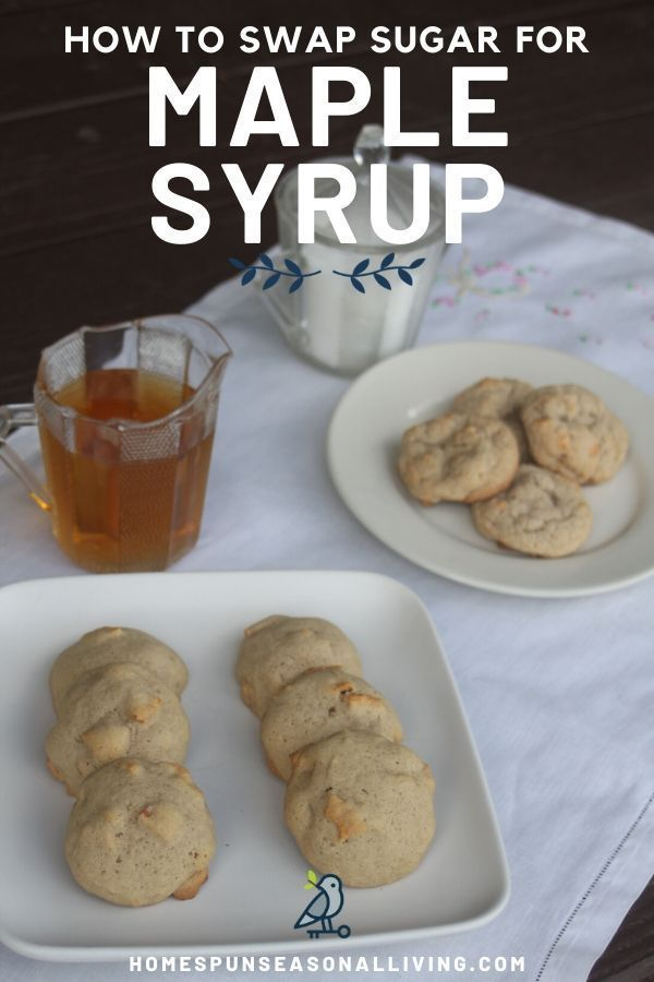 How To Substitute Maple Syrup For White Sugar In 2020 Maple