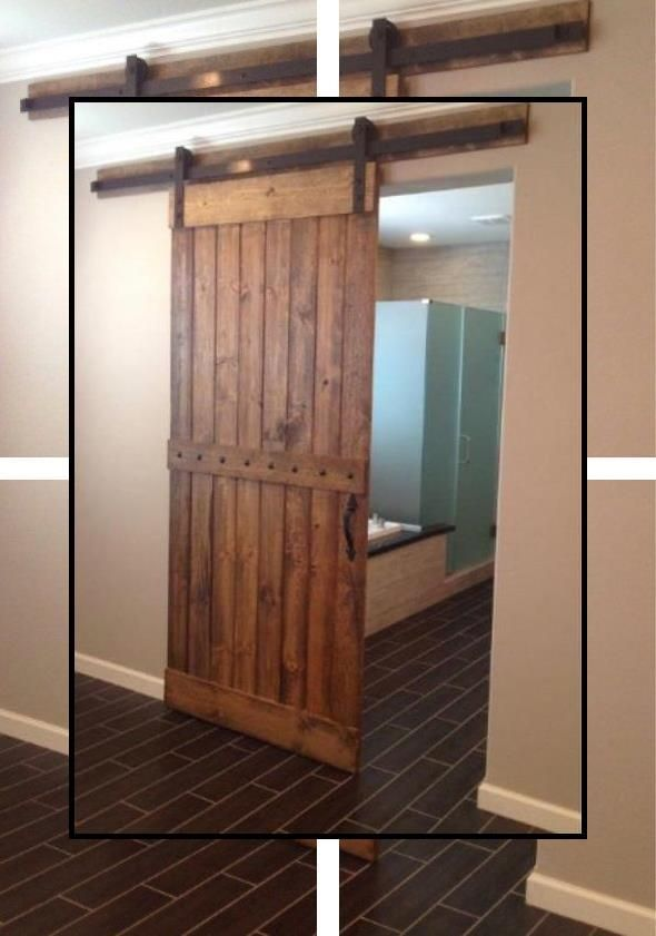 Barn Style Sliding Door Hardware Barn Door Rail Kit Sliding Roller Door Hardware In 2020 Double Sliding Barn Doors Craftsman Interior Doors Buy Interior Doors