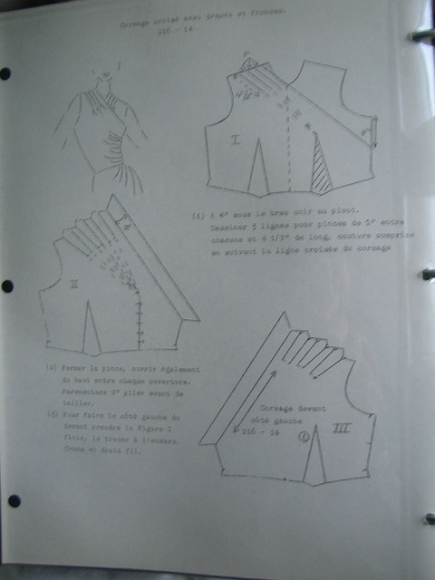 Another bodice draft