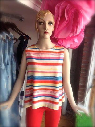 The striped Sloop top... Love it!