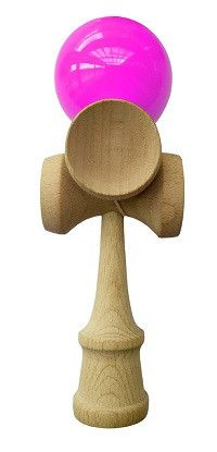 - Become a Kendama Expert with the 5-Cup handle! A new Edge in Tricks can now be achieved with 4 cups on top of the handle and 1 on the bottom - Made of Lightweight and Durable Beech Wood That helps P