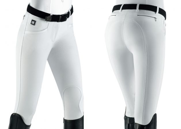 "Equiline Breeches ""Ash"" Spring Collection 2013, Blue & White"