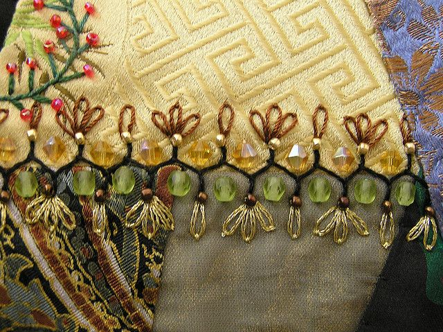 Images about crazy quilt stitches on pinterest