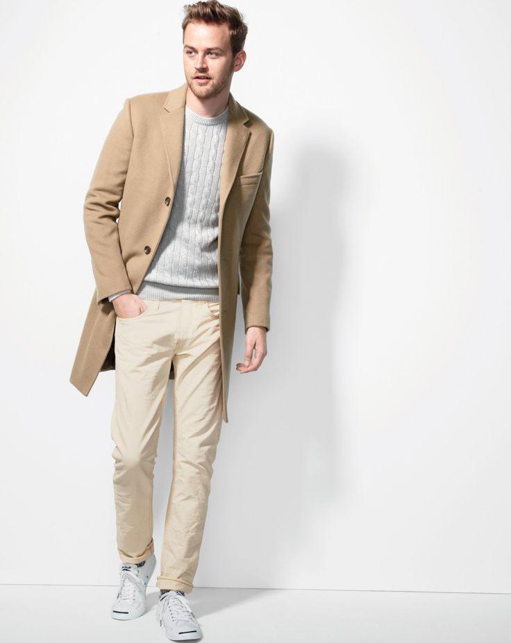 38 best Men Camel Coat images on Pinterest   Menswear, Men fashion ...