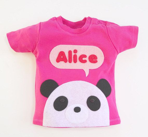 The 25 best panda t shirt ideas on pinterest panda panda panda organic baby t shirt baby girl personalized baby panda t shirt 3 months negle Image collections