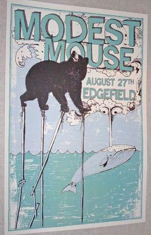 Modest Mouse Tour Poster
