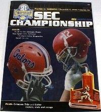 Alabama vs Florida SEC Championship PROGRAM 2009 | Alabama 32 Florida 13 | #SECATL #UFvsBAMA #UFvsALA #Alabama #RollTide #BuiltByBama #Bama #BamaNation #CrimsonTide #RTR #Tide #RammerJammer #SEC #SECChampionship