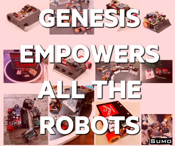 Genesis board powers the mini sumo robots of all over the world.   Order yours here: http://www.jsumo.com/genesis-arduino-robot-controller-board-with-arduino-nano