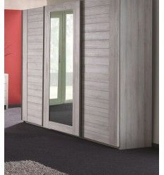 Best Armoires à Portes Coulissantes Images On Pinterest Sliding - Porte placard coulissante avec porte double interieur vitree