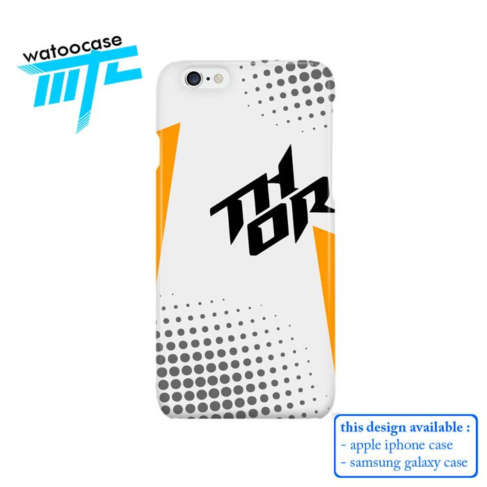 Thor Racing White Phone Case for Apple Iphone 4/4s, Iphone 5/5s, Iphone 5c, iPhone 6, iPhone 6 Plus, Samsung GALAXY S3, Samsung Galaxy S4, Samsung Galaxy S5