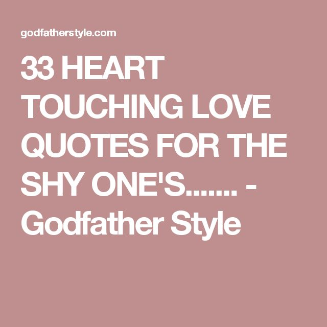 Heart Touching Love Quotes: 25+ Best Heart Touching Love Quotes On Pinterest