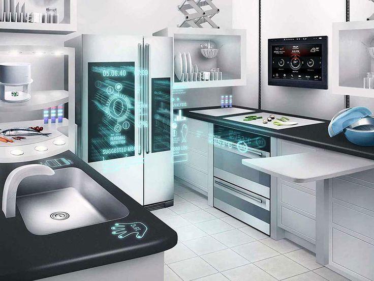Умная кухня и все плюсы автоматизации зданий и помещений