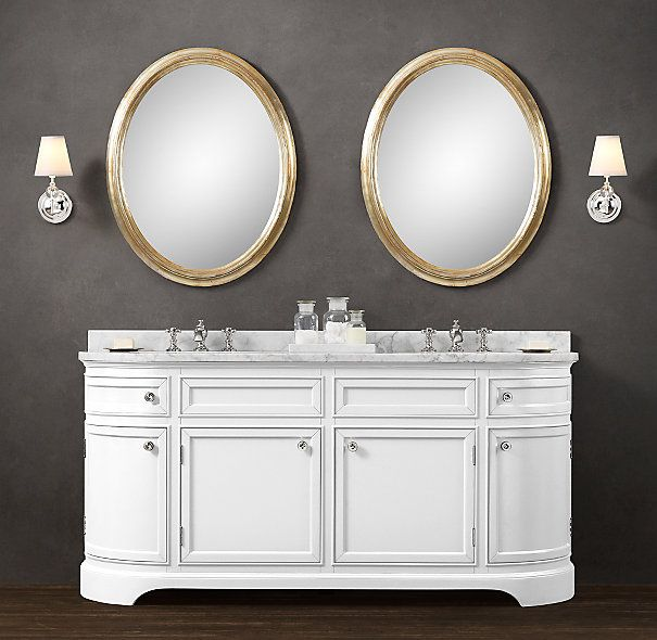 Od on Double Vanity Sink from Restoration Hardware91 best FURNITURE   Vanity   Bathroom images on Pinterest   Vanity  . Kent Bathroom Vanity Restoration Hardware. Home Design Ideas