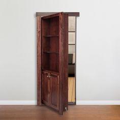 Hidden door Hinge System #MurphyDoor