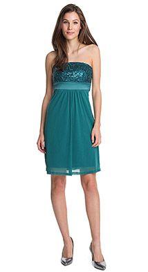 bustier-jurk van mesh Esprit