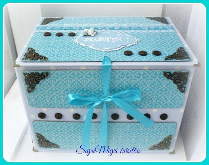 very big baby boy´s  memory box