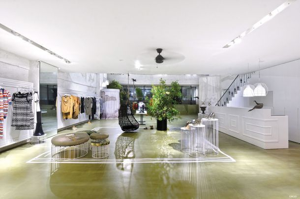 Grigio concept store: Ένα κατάστημα - πολυχώρος στο κέντρο της Θεσσαλονίκης, Block722 architects - Σωτήρης Τσέργας, Κάτια Μαργαρίτογλου, Κωνσταντίνος Κορφιάτης