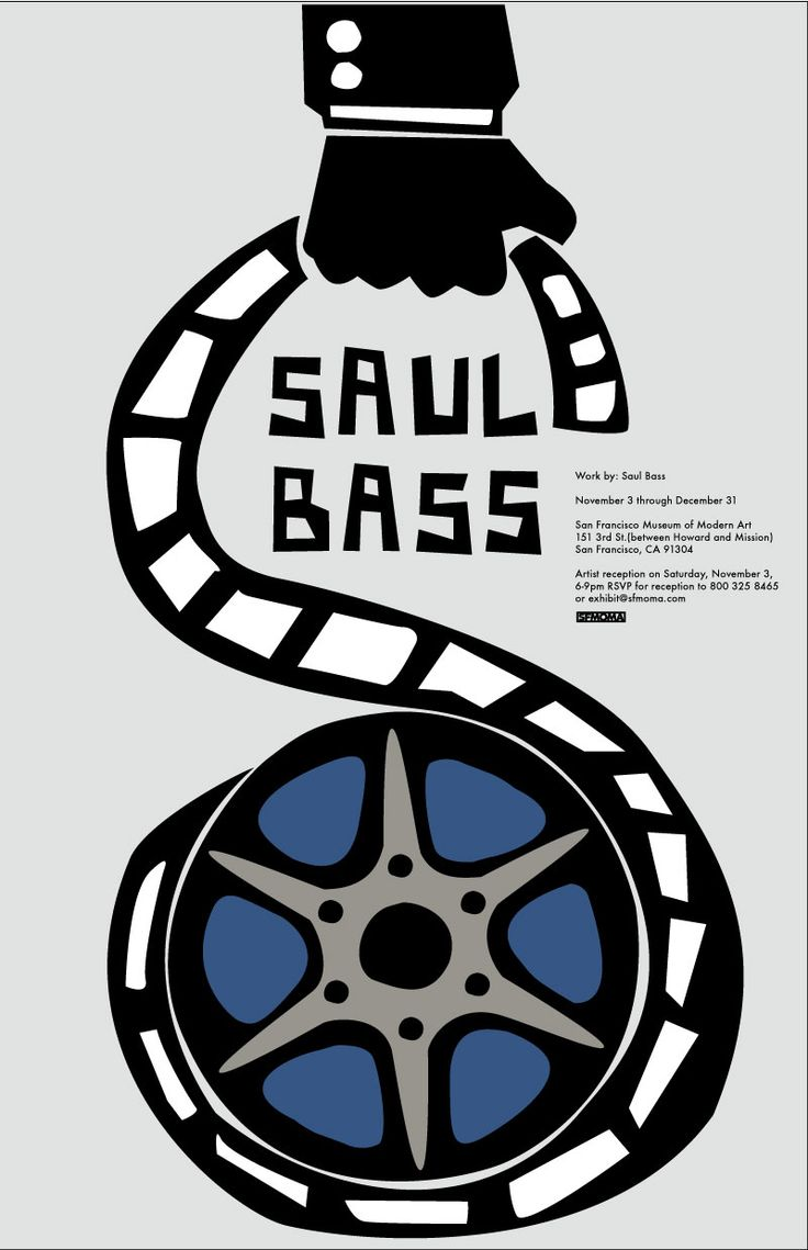 Saul Bass Poster Project.