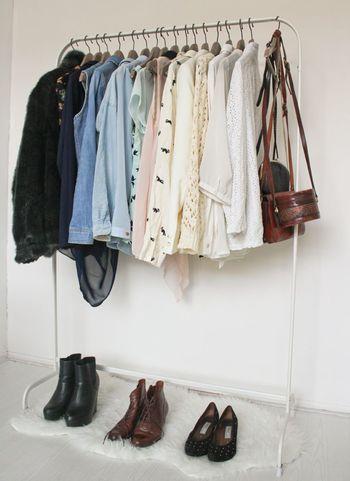 驚きの799円!IKEAの洋服ラックはシンプルでどんなお部屋にも合うん ... あなたのお部屋にも是非「MULIG」を