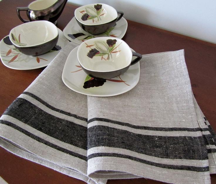 LIthuanian Linen Tea Towel Kitchen Hostess by attitudeandapron, via Etsy.Towels Kitchens, Teas Towels, 1200, Tea Towels, Linenqu Fabrics, Linens Qu Fabrics, Lithuanian Linenqu, Towels 12, Linens Teas