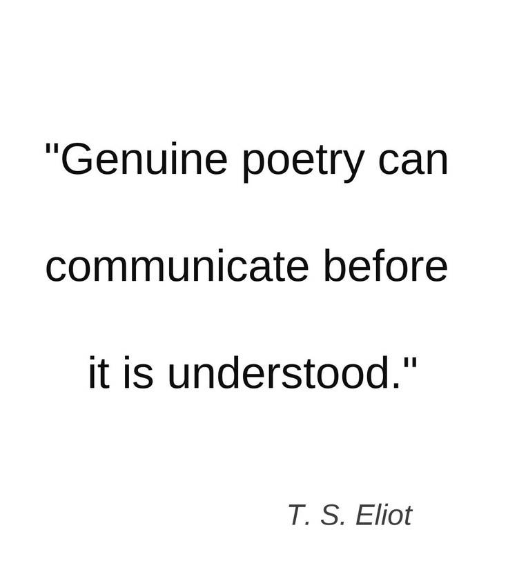 the poetry of t s eliot essay Free analysis on the waste land tseliot papers, essays, and research papers thomas stearns eliot writers poetry essays] 4125 words (118 pages.