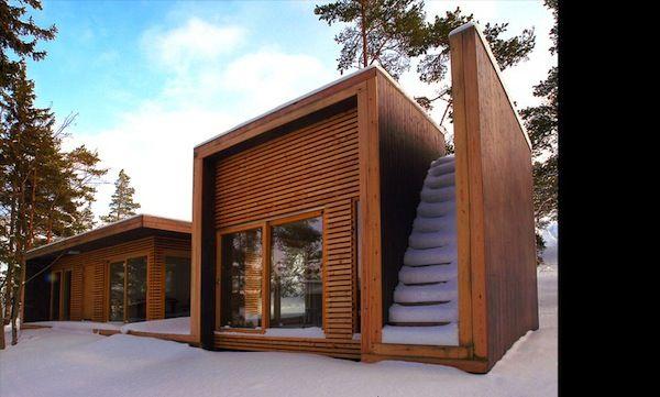 484 Sq. Ft. Modern & Unique Tiny Cabin