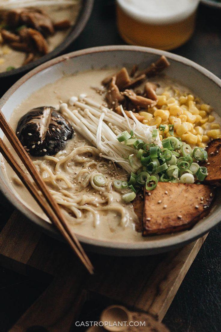 Vegan Tonkotsu Ramen - This vegan ramen recipe is a keeper ...
