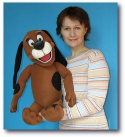 Puppy Drop puppet, Puppet for sale