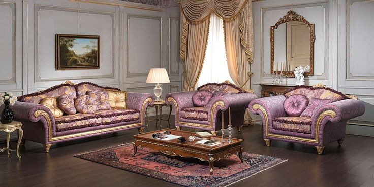 Classic Imperial living room fabric | Vimercati Classic Furniture