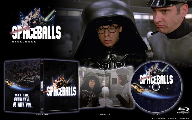 SPACEBALLS - STEELBOOK -  Fan art