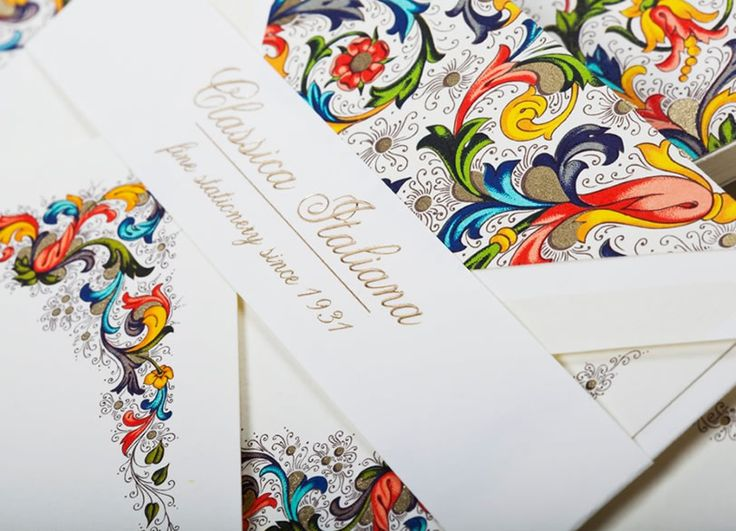 Fine traditional florentine stationery made in Tuscany