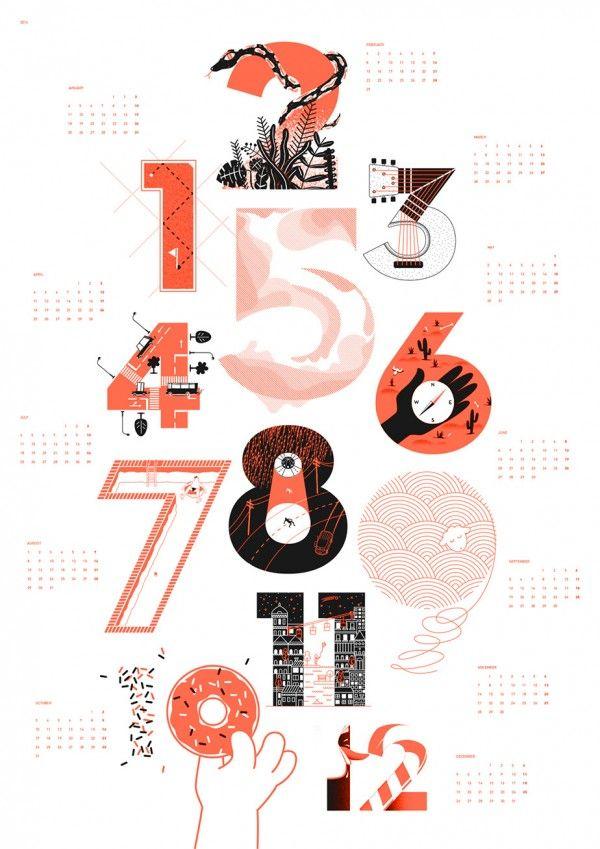 Upstruct Kalender 2016